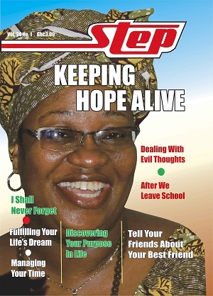 step-keeping-hope-alive, step Magazine